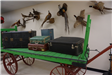 Luggage Cart And Pheasants