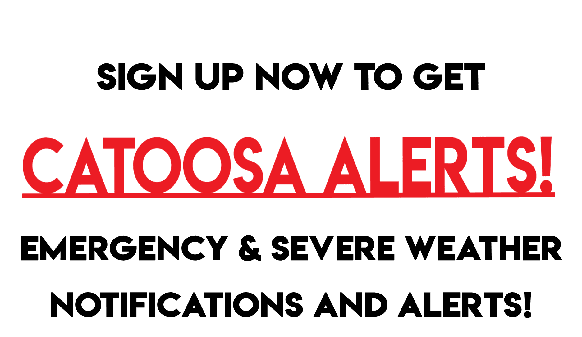 sign up catoosa alerts