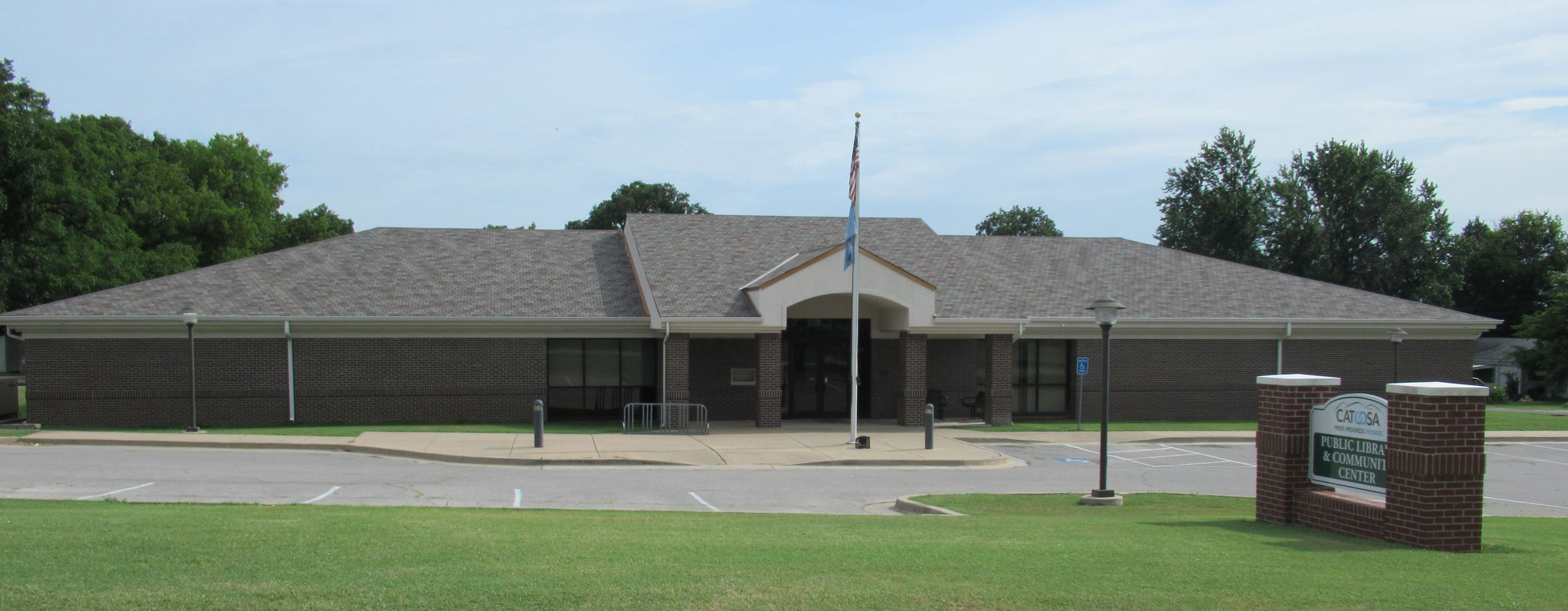 Catoosa Library Front